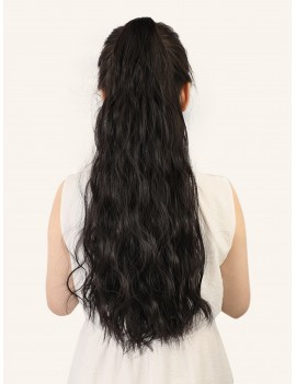Natural Long Curly Ponytail Hair
