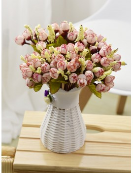 15pcs Rose Bud Artificial Bouquet