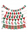 1pc Christmas Decorative Pull Flag 3M