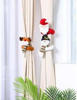 1pc Christmas Curtain Buckle Decoration
