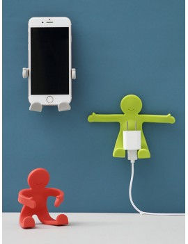1pc Adjustable Person Shaped Wall Hook