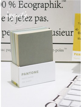250sheets Solid Color Sticky Note