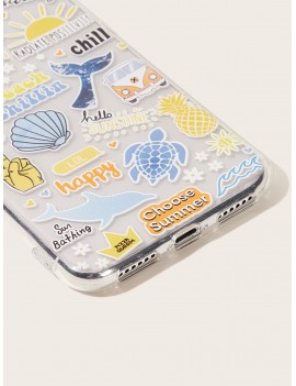Beach Pattern iPhone Case