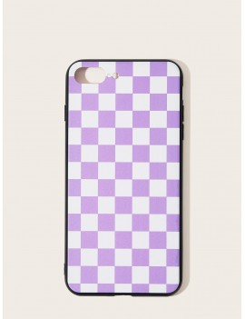 Checkered Pattern iPhone Case