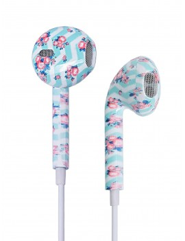 Flower Print Ear Pods With Box