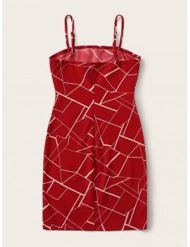 Geo Print Cami Dress